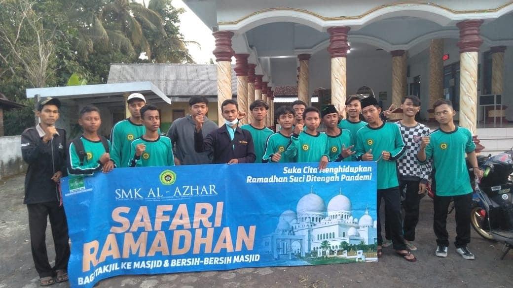 Baksos Siswa-Siswi SMK AL-AZHAR SEMPU Kelas X TKRO 2